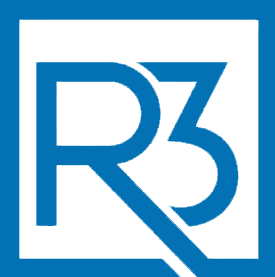 R3 Office Solutions Blue Logo